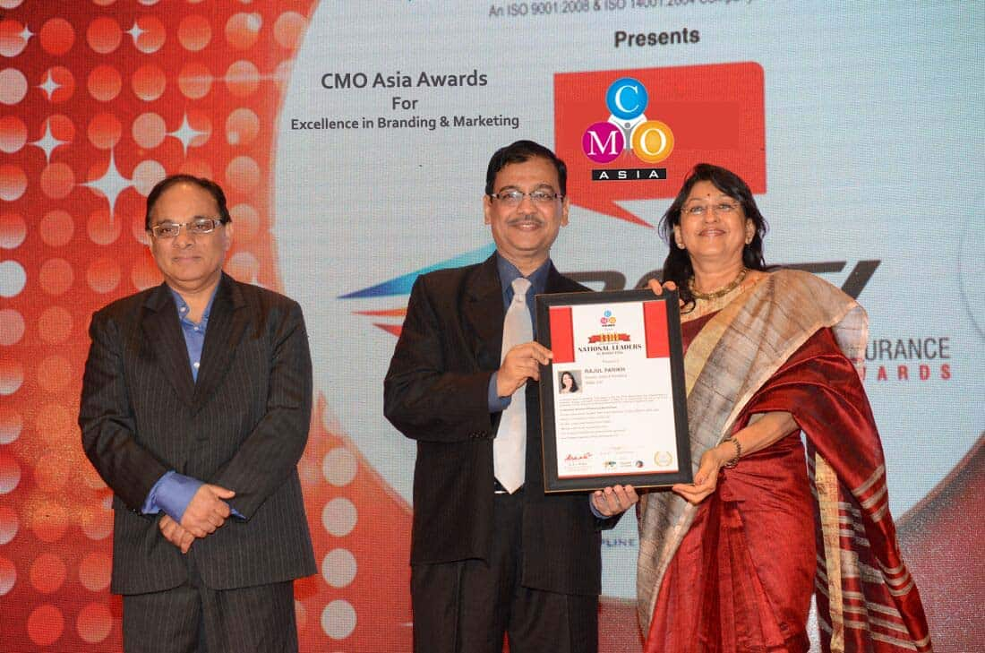 Rajul Parikh receives National Award for Marketing Excellence