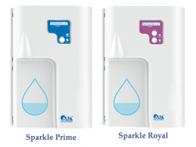 Sparkle UV Water Purifiers - The perfect amenity for your elite customers