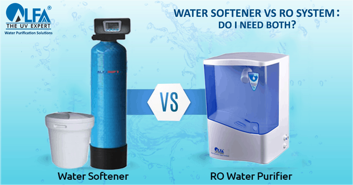 What is the difference between water softener and RO system?