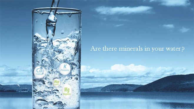 Are there minerals in your purified water ?