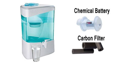 Different types of non electric gravity based water filters and their evaluation