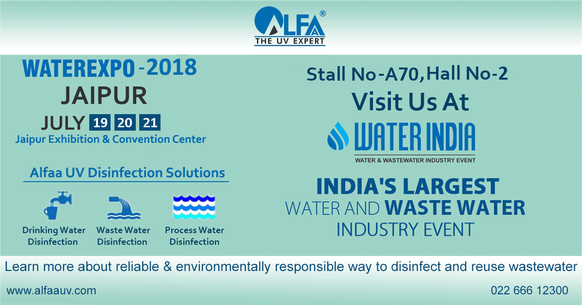 Water India Water Expo – 2018