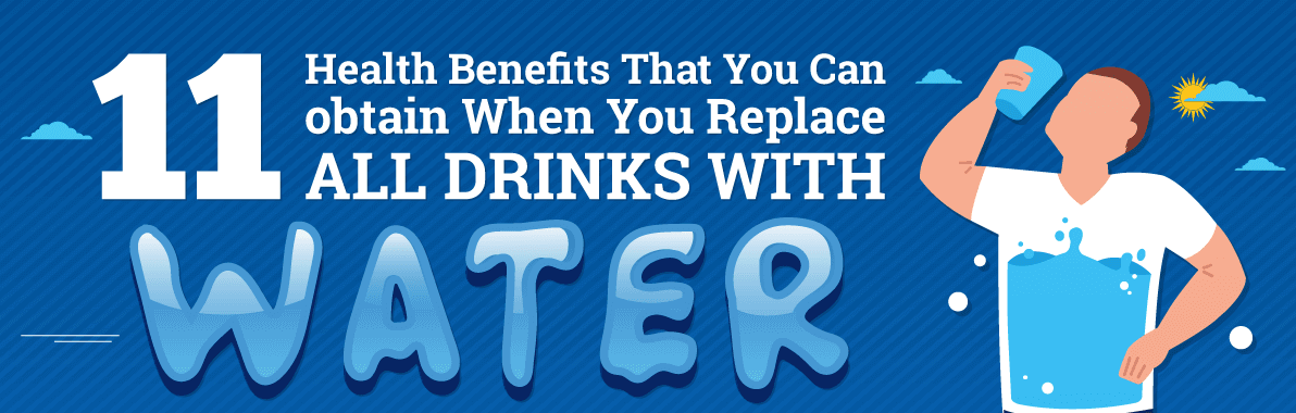11 Health Benefits That You Can Obtain When You Replace All Drinks with Water
