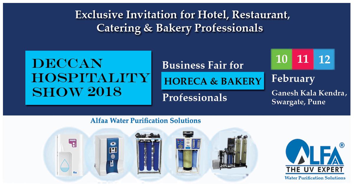 Deccan Hospitality Expo – 2018