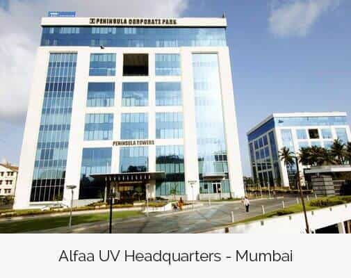 Alfaa UV is an ISO 9001 company